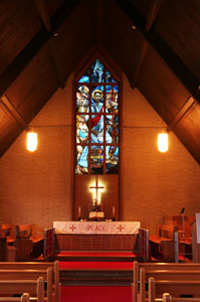 Church Sanctuary at St. John United Church of Christ Fairview Heights Illinois