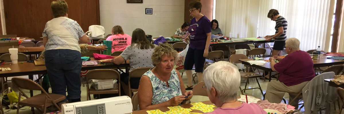 Sew Project at St. John Fairview in Fairview Heights IL
