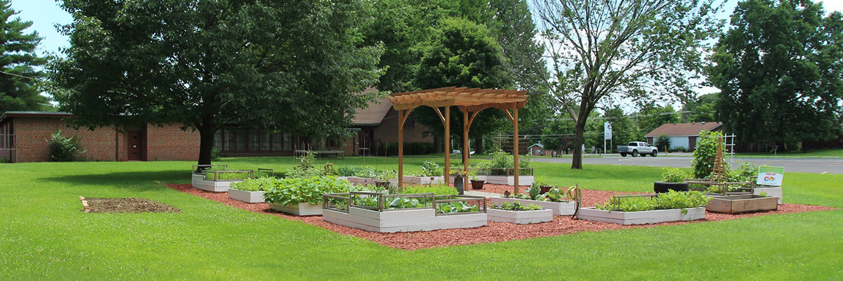 Community Garden at St. John Fairview in Fairview Heights IL